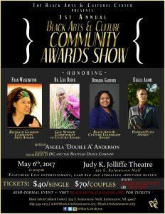 Black Arts & Culture Community Awards Show